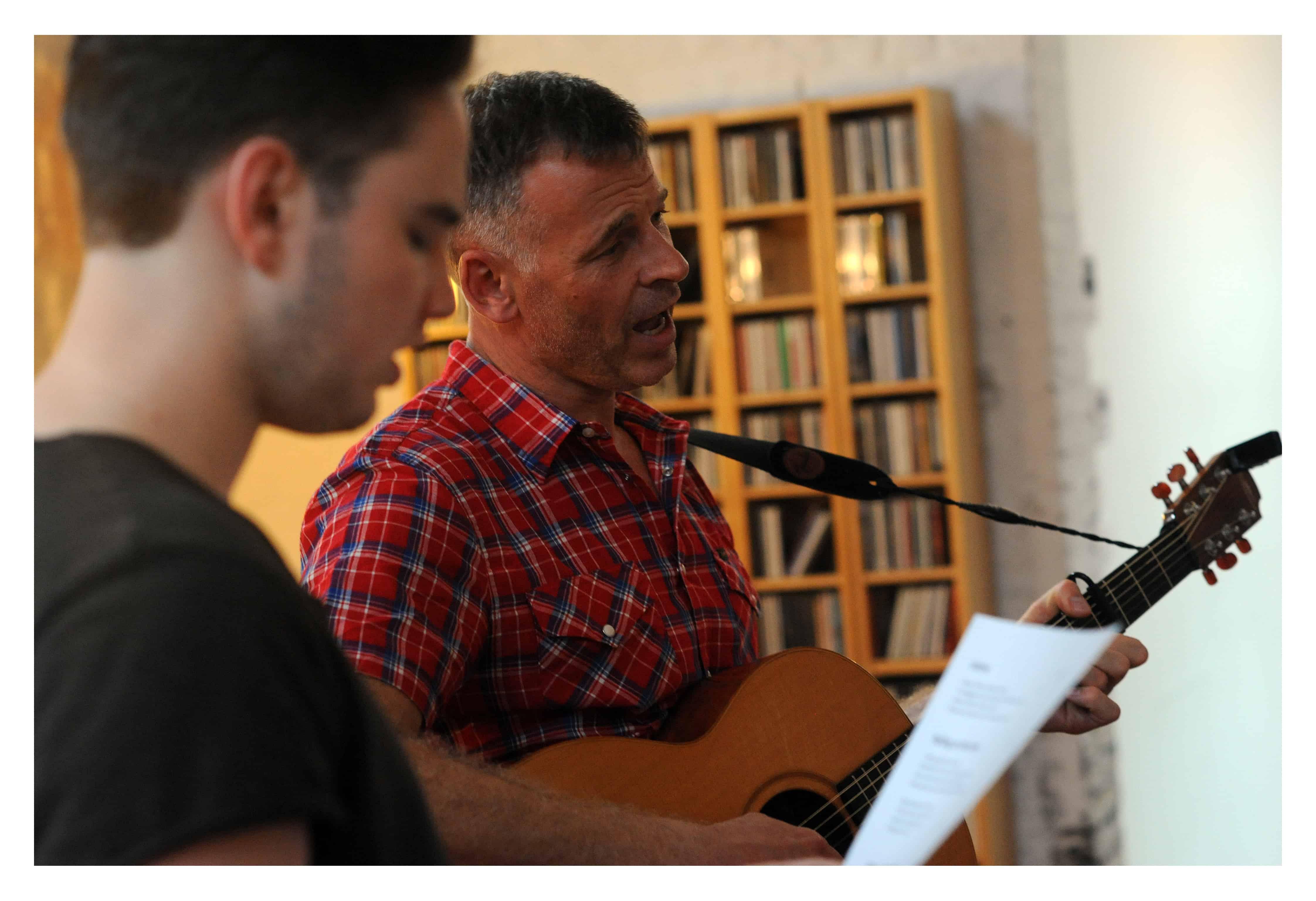 Zingen in de synagoge